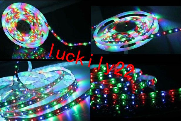 5M Dream Color 3528 RGB SMD Horse Race Lamp Led Strip